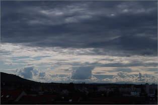 Beeindruckende Wolken -    Der 02.