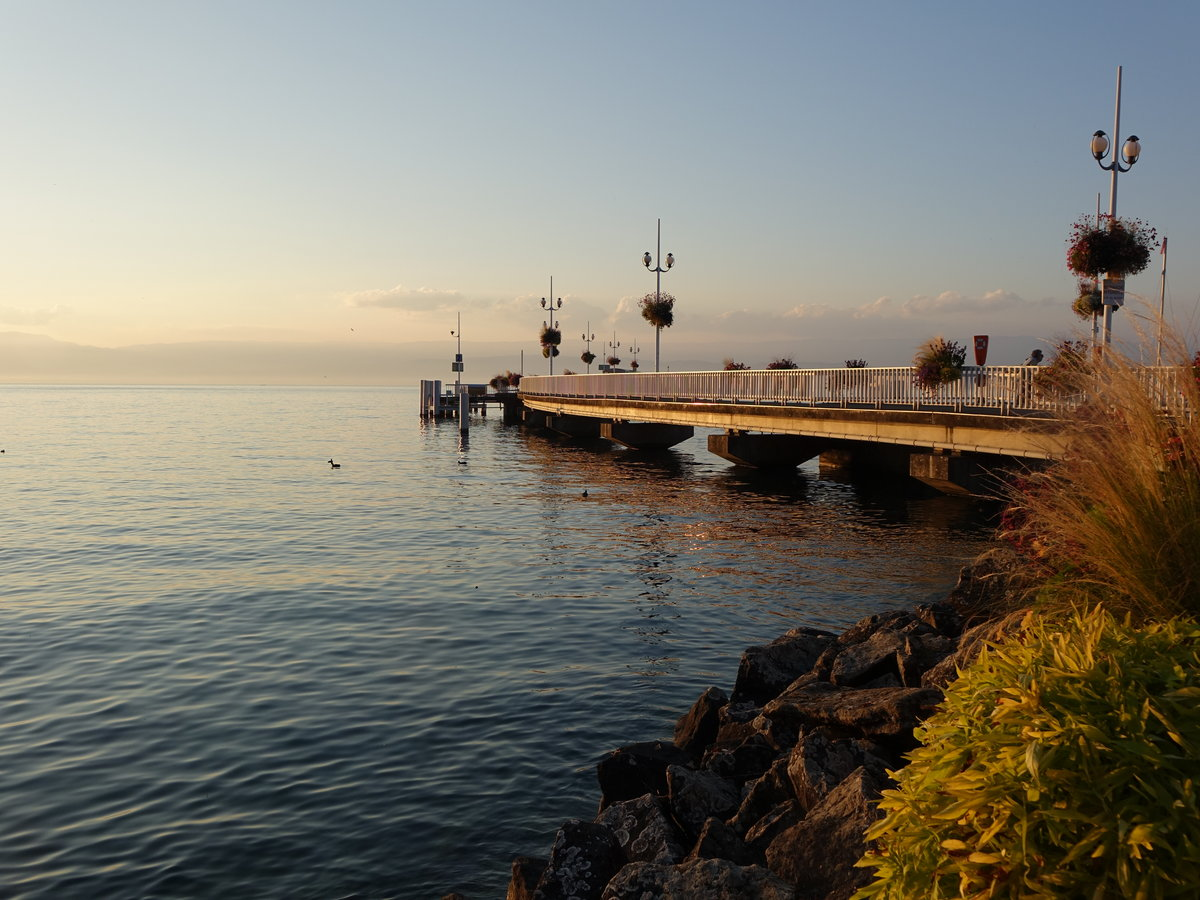 Am Genfer See in Thonon (24.09.2016)