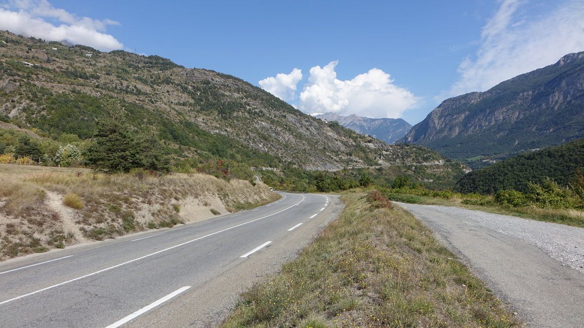 Route des Grandes Alpes bei Guillestre (23.09.2017)