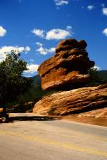 Felsformation im Garden of the Gods bei Colorado Springs